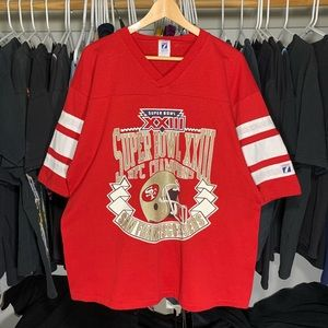 VTG 88' SF 49ers Championship Jersey tee size XL